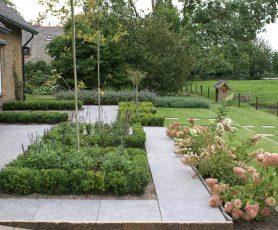 Moderne Engelse tuin